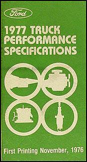 1977 Ford F100-F350 Pickup Truck Repair Shop Manual, Sales ...