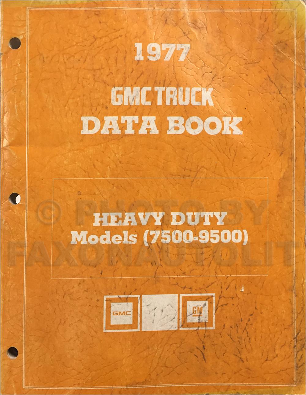 1977 GMC General Chevy Bison Foldout Wiring Diagram Original Cummins ...
