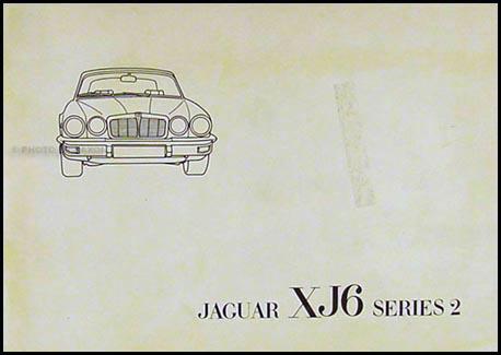 1977 jaguar xj6 owner s manual original rh faxonautoliterature com 1975 Jaguar XKE 1975 Jaguar XKE