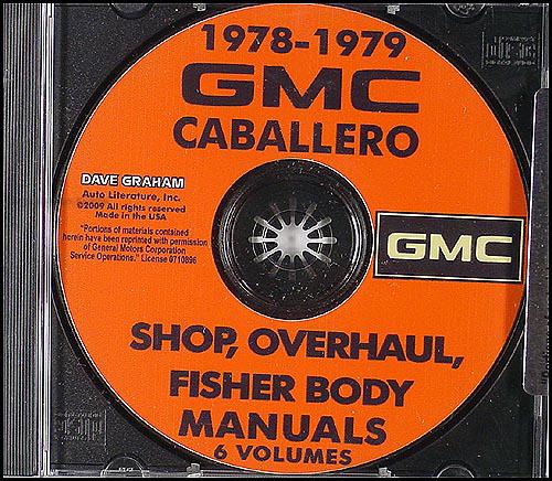 1978 Chevy El Camino Gmc Caballero Wiring Diagram Original