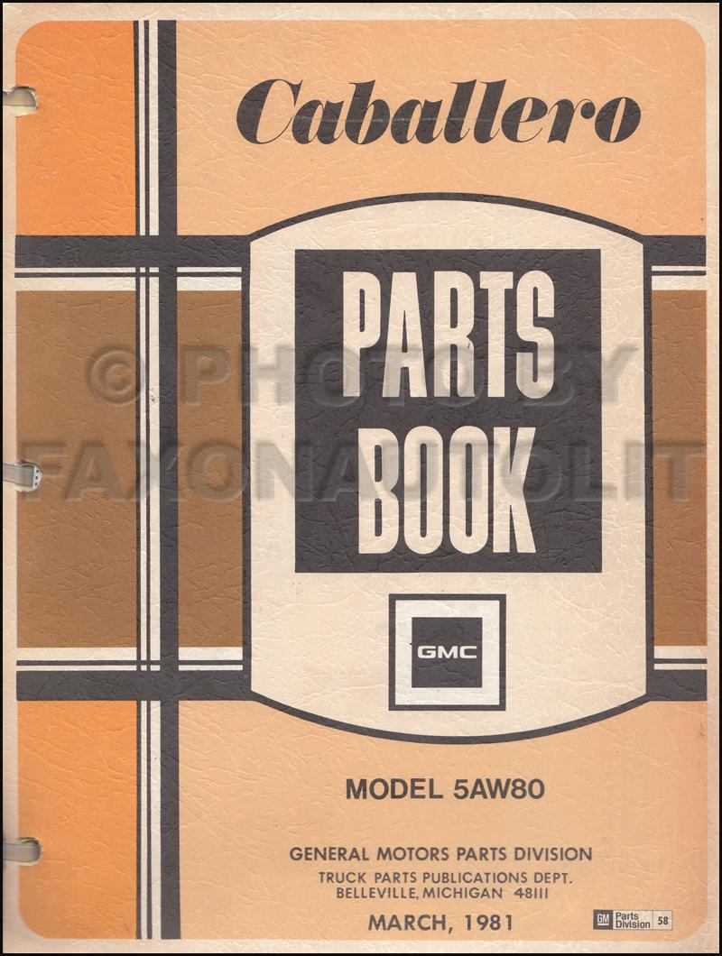 1983 gmc caballero wiring diagram 1983 mazda rx7 wiring diagram 1980 gmc caballero repair shop manual original #10