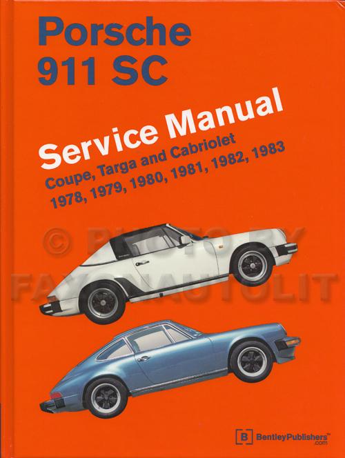 1978 porsche 911sc owner 39 s manual original. Black Bedroom Furniture Sets. Home Design Ideas