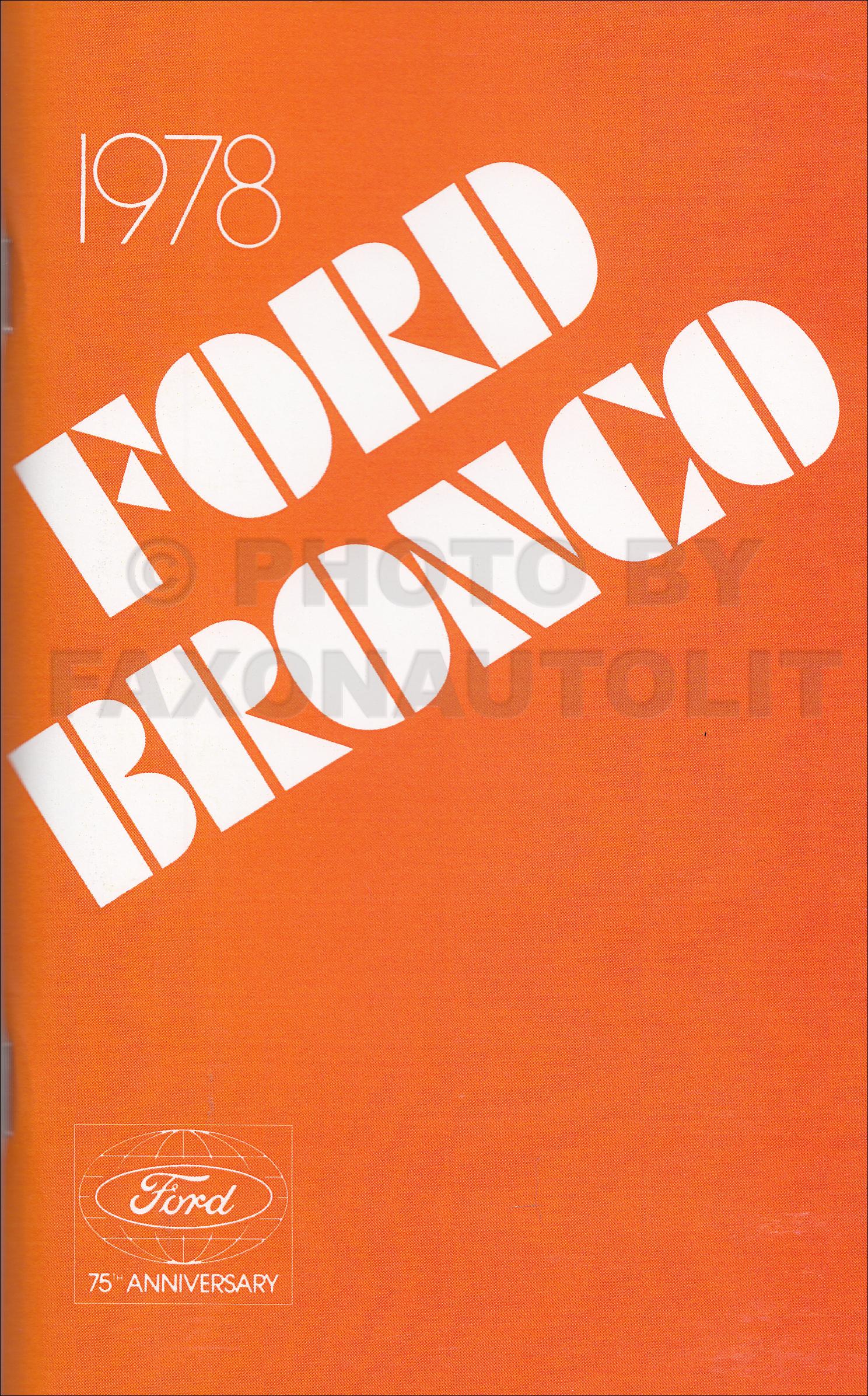 1978 Ford Truck Repair Shop Manual 5 Volume Set Original