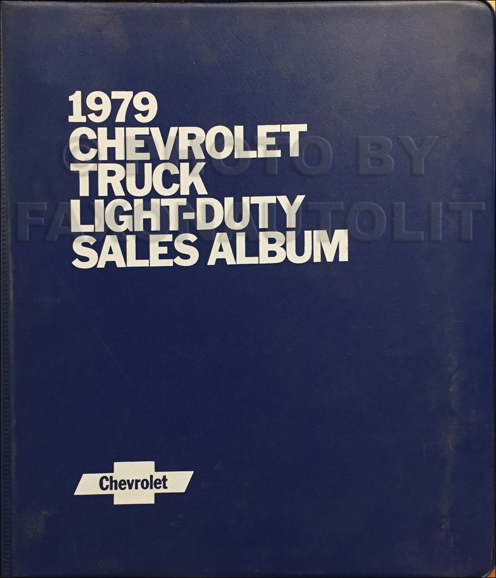 1979 Chevrolet Truck Repair Shop Manual Cd Pickup Blazer