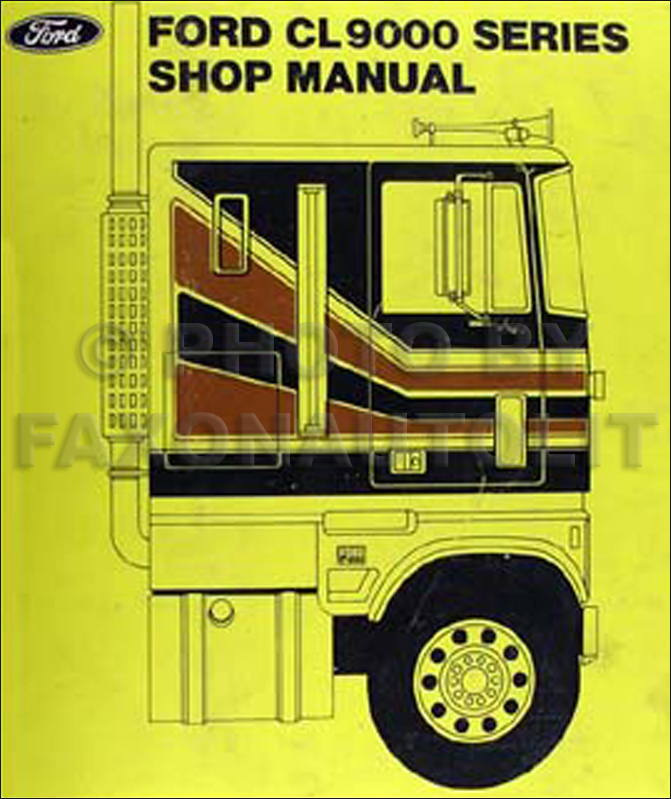 1979 Ford Medium And Heavy Truck Service Specs Manual Original