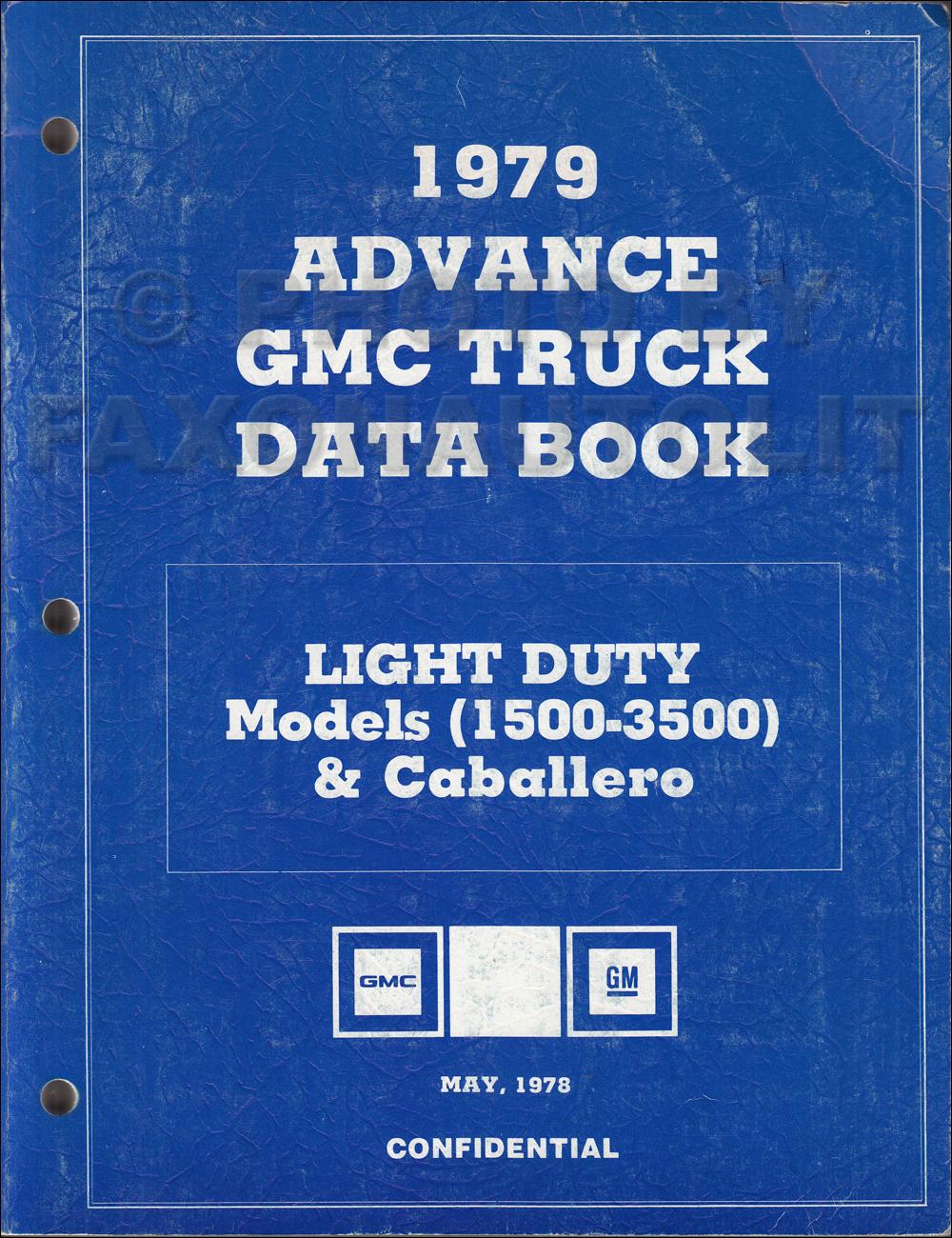 1979 Chevy Gmc G Van Wiring Diagram Original