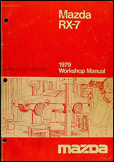 1979 mazda rx 7 original wiring diagram 1979 mazda rx 7 repair shop manual original 129 00