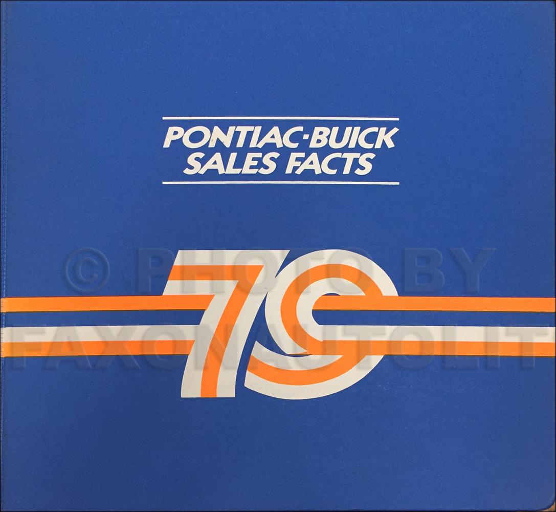 Buick Dealership Phoenix: 1979 Pontiac, Firebird, & Trans Am Original Options