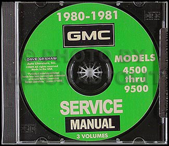 19801981 Gmc Truck 45009500 Repair Shop Manuals On Cdromrhfaxonautoliterature: Gmc General Trucks Wiring Diagram At Gmaili.net
