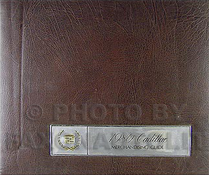 1980 Cadillac Merchandising Guide - Data Book and Color and Upholstery Album