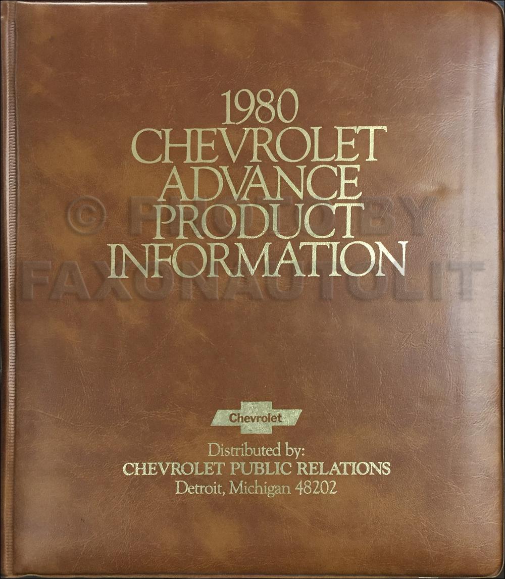 1980 Chevrolet Pickup Blazer Van And Suburban Repair Shop Manual Original