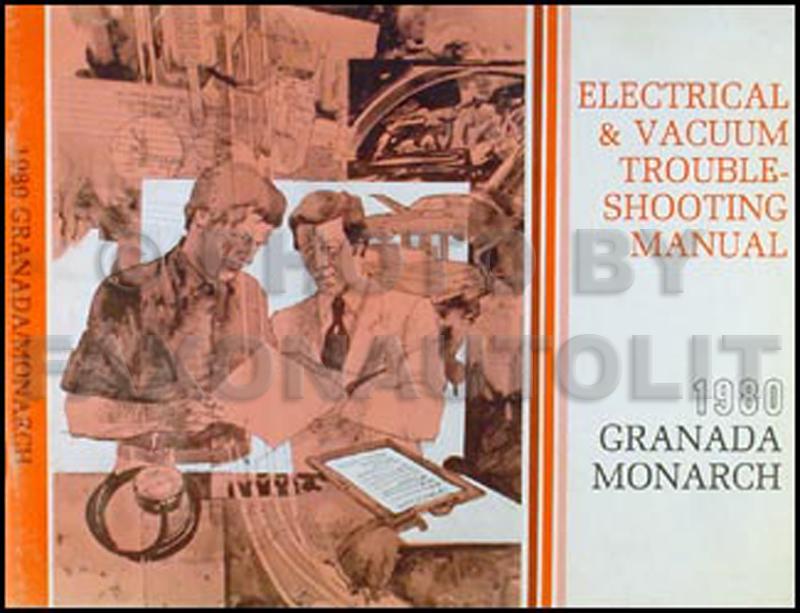1980 Ford Granada Mercury Monarch Electrical