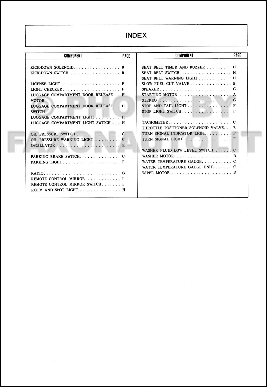1991 mazda 626 wiring diagram mazda 626 wiring diagram pdf 1980 mazda 626 wiring diagram manual original