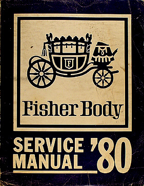 1980 GM Original Body Manual Buick, Oldsmobile, Cadillac