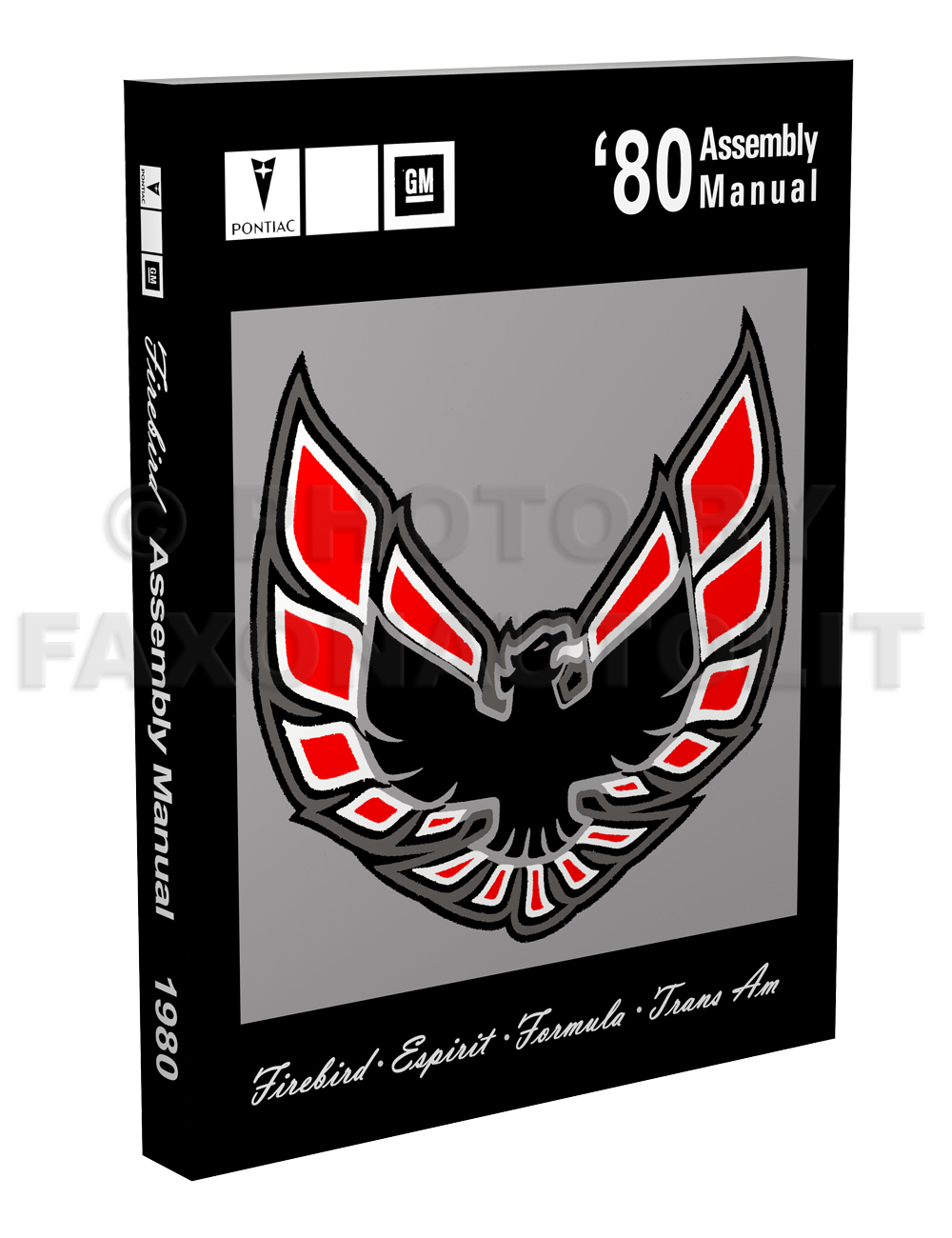 1980 Pontiac Firebird Assembly Manual Turbo Trans Am Esprit Formula Wiring Diagram