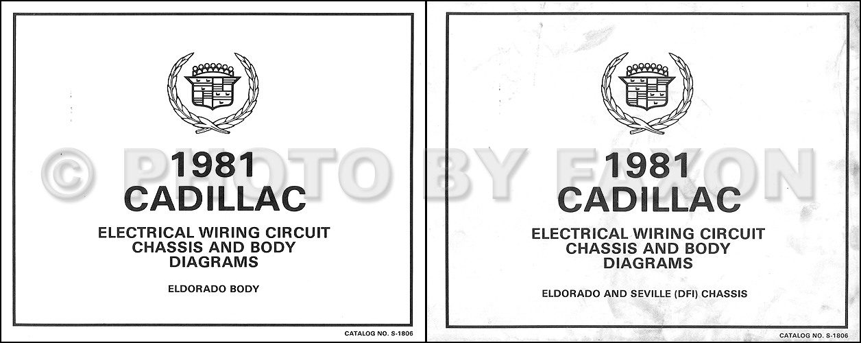 1981 cadillac eldorado v8 gas foldout wiring diagrams original. Black Bedroom Furniture Sets. Home Design Ideas