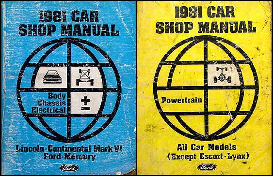 1981 Ford Ltd And Mercury Marquis Wiring Diagram Original