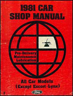 1981 Ford Fairmont    Mercury    Zephyr    Wiring       Diagram    Original