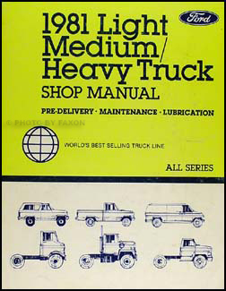 1981 ford l series foldout wiring diagram l800 l900 l8000. Black Bedroom Furniture Sets. Home Design Ideas