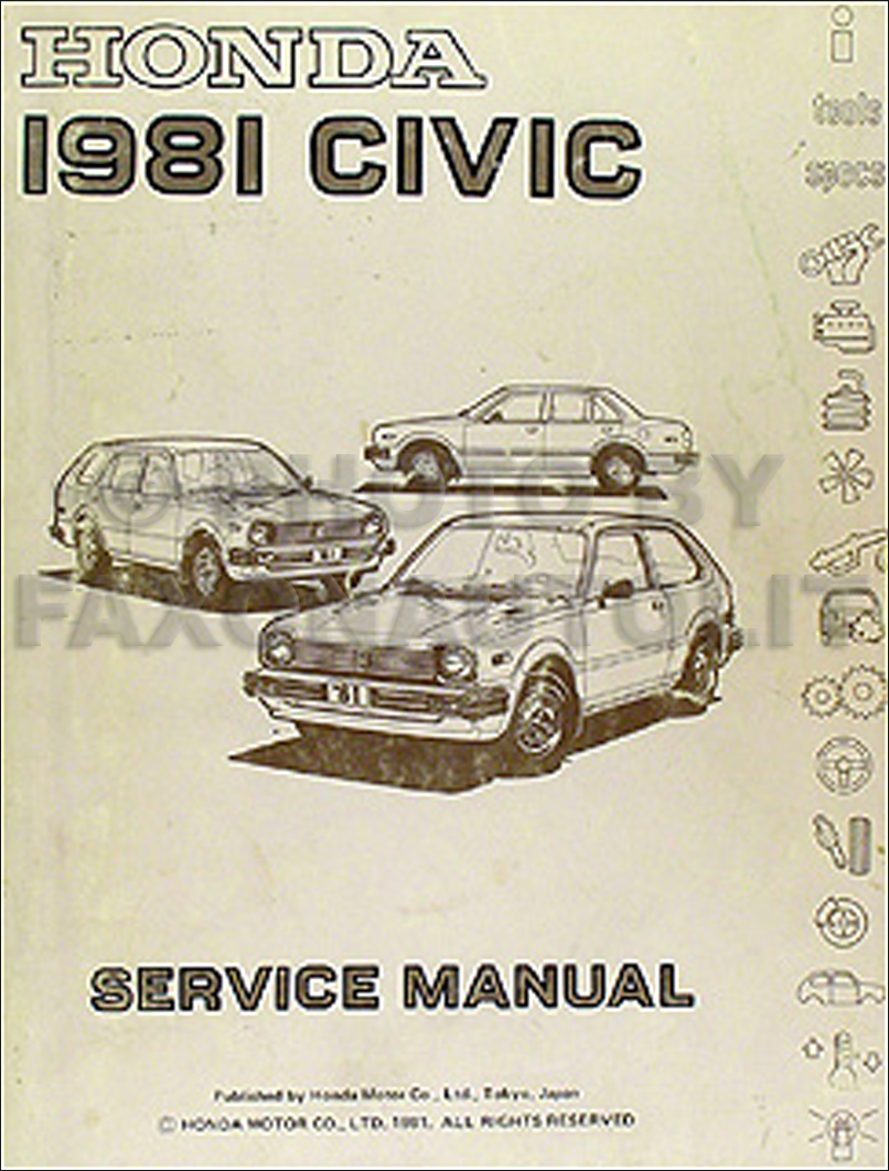 2001 honda civic repair manual free download
