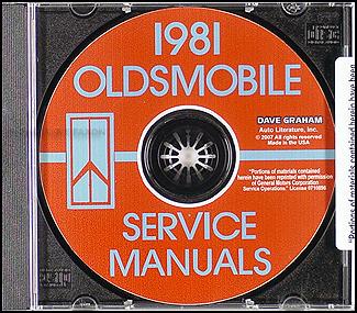 1981 oldsmobile cd repair shop manual and body 88 98. Black Bedroom Furniture Sets. Home Design Ideas