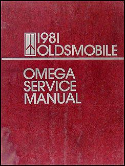 1981 oldsmobile omega repair shop manual 81 olds brougham. Black Bedroom Furniture Sets. Home Design Ideas