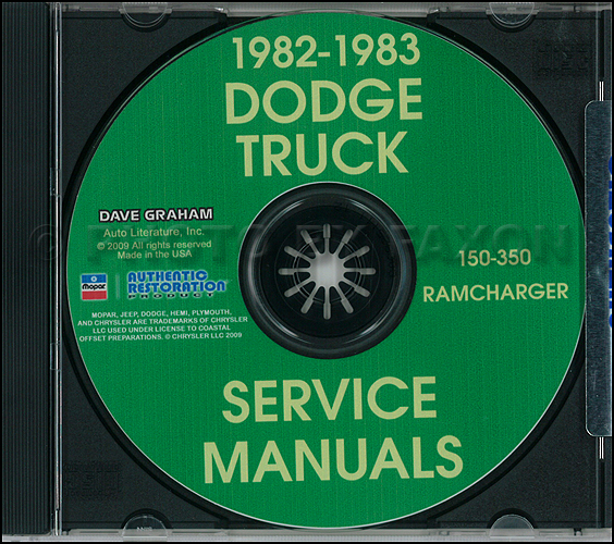 1982 1983 dodge ramcharger and pickup d&w 150 350 repair shop manual cd 1978 dodge truck wiring diagram 1983 dodge truck wiring diagram #22