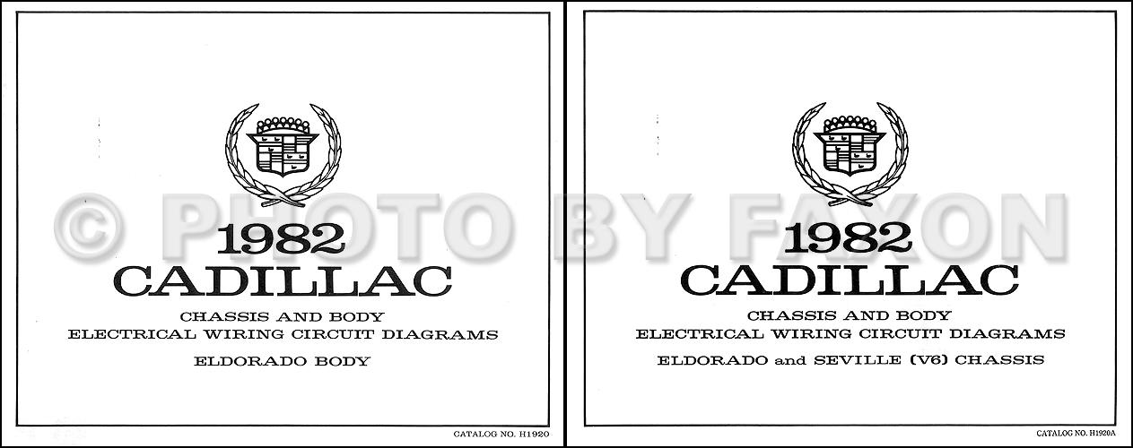 1982CadillacEldoradoV6OWD 1982 cadillac electrical & engine diagnosis manual original 1984 Seville at gsmx.co