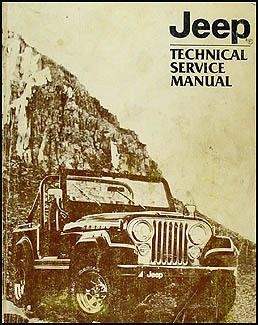 1981 jeep repair shop manual reprint all models 2 volume set.