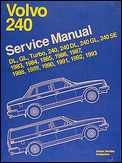 1983 93Volvo240BentleyORM 1983 1993 volvo 240 bentley repair shop manual dl gl se  at bakdesigns.co