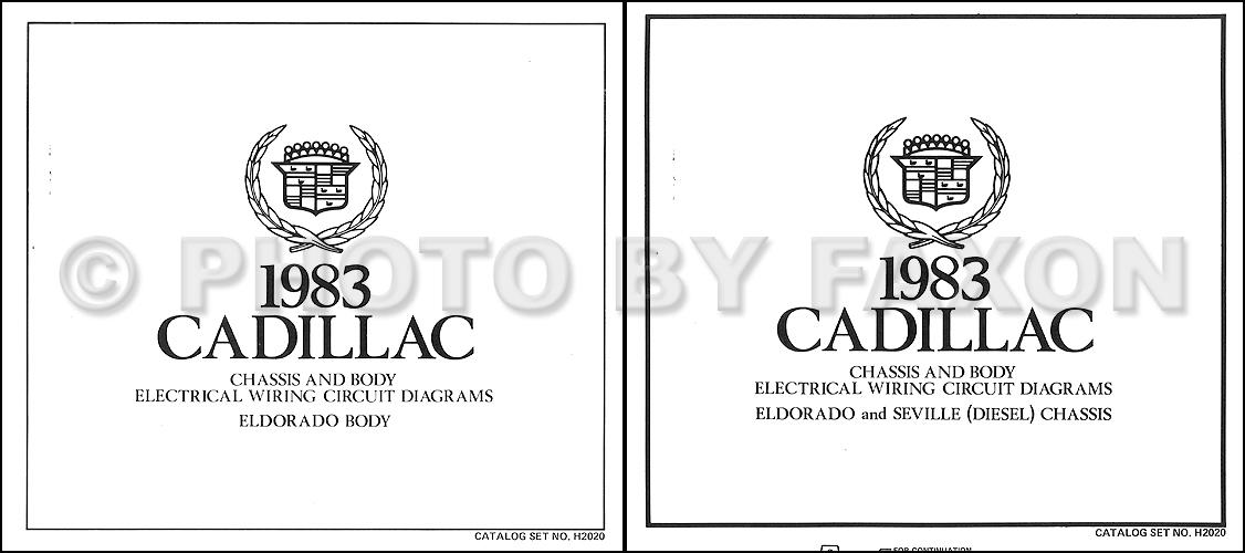 1983CadillacEldoradoDieselOWD 1983 cadillac electrical troubleshooting manual original 1984 Seville at nearapp.co