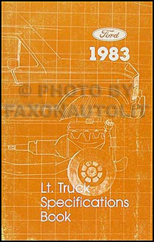 1983 Ford Bronco F100 F150 F250 F350 Electrical
