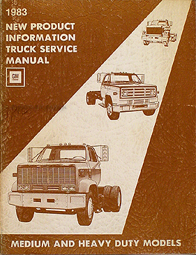 search gmc sierra stereo wiring diagram 1983 chevy gmc medium heavy truck original service information manual