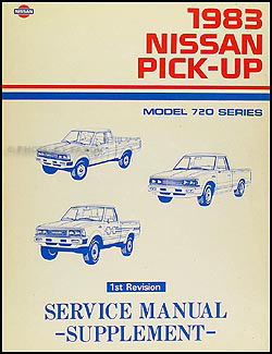 85 nissan 720 wiring diagram 1983 nissan 720 series pickup truck repair shop manual ... #10