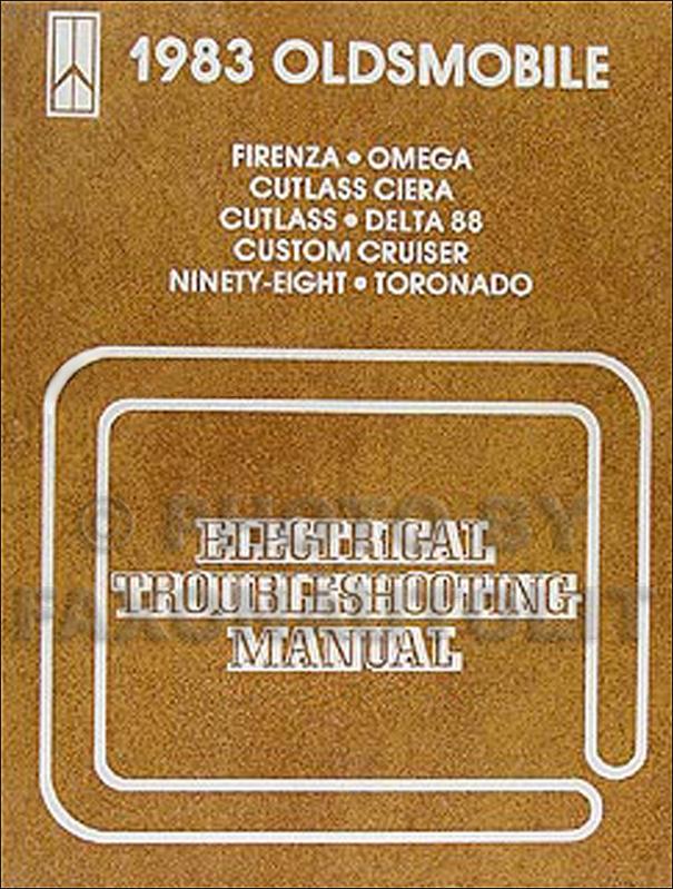 1983 Oldsmobile Electrical Troubleshooting Manual Original All Carsrhfaxonautoliterature: 1984 Oldsmobile Omega Wiring Diagram At Gmaili.net