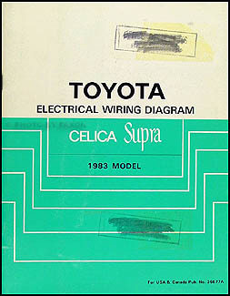 1994 toyota celica wiring diagram 1986 toyota celica wiring diagram 1982 1986 toyota celica and supra body collision manual no