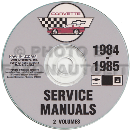 1984 1985 chevrolet corvette repair manual on cd rom rh faxonautoliterature com GM Corvette GIF Corvette Wallpaper