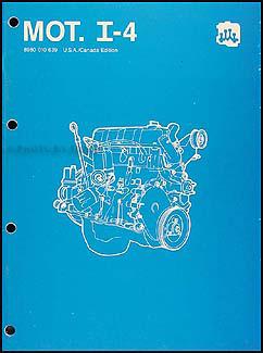 1984-1988 AMC & Jeep 4 Cylinder Engine Overhaul Manual Reprint