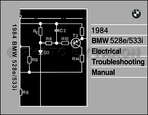 1984 Bmw 528e 533i Electrical Troubleshooting Manual Wiring Diagram 84
