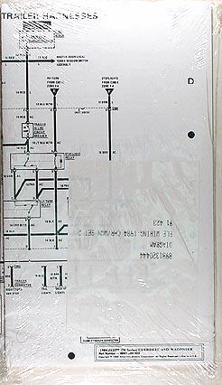 1984 jeep cherokee wagoneer original wiring diagram schematic 84 rh faxonautoliterature com