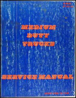 1984 Chevrolet & GMC Medium Truck Shop Manual Original 40-6000 Series