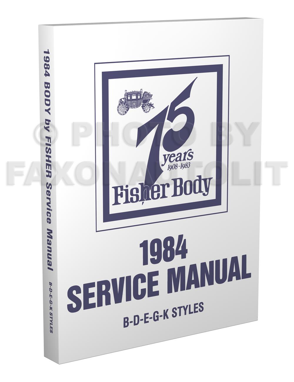 fisher e body manual