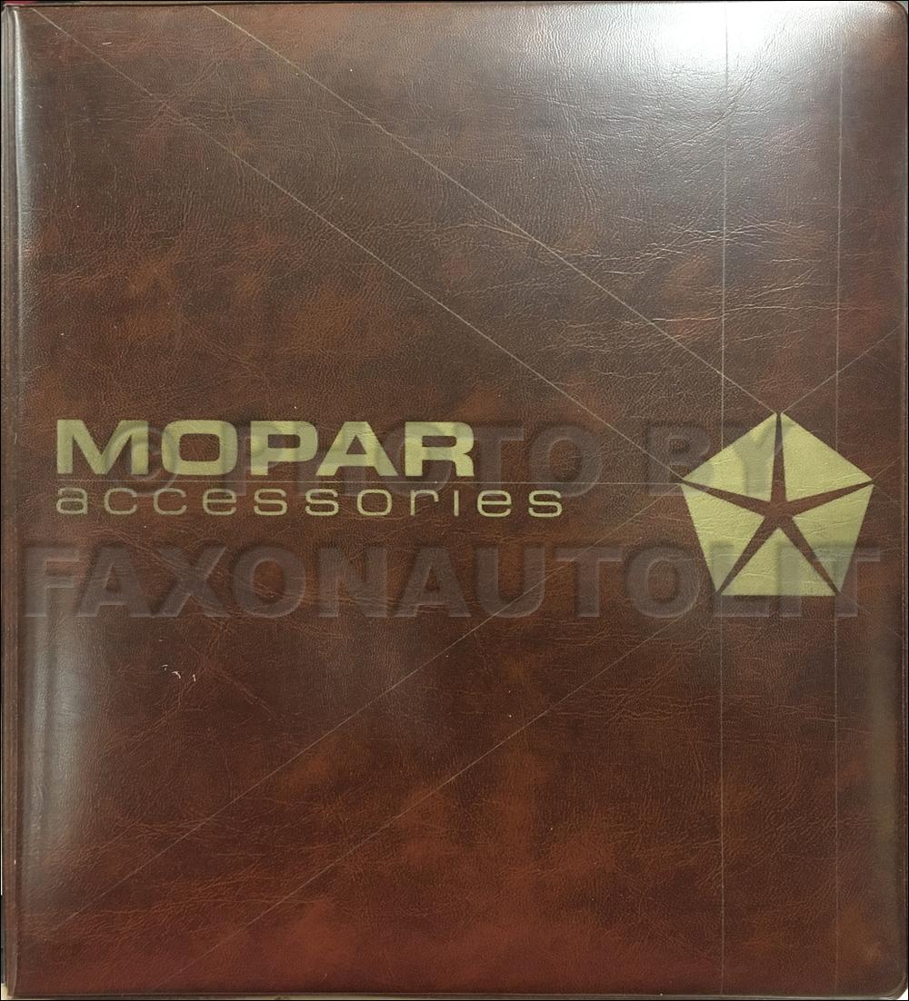 1984-1985 MoPar Accessories Application Guide and Price List Original