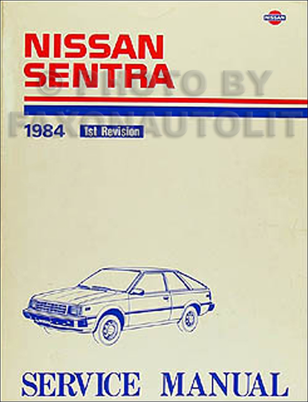 1987 nissan sentra shop manual free owners manual u2022 rh wordworksbysea com 1991 Sentra 1996 Sentra