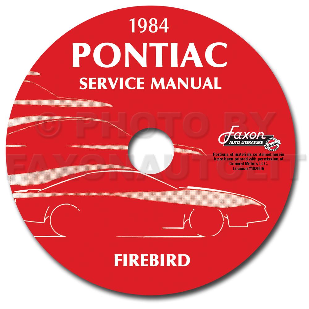 2017 Pontiac Firebird Repair Manual