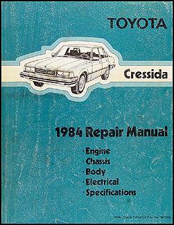 1984 toyota cressida repair shop manual original rh faxonautoliterature com