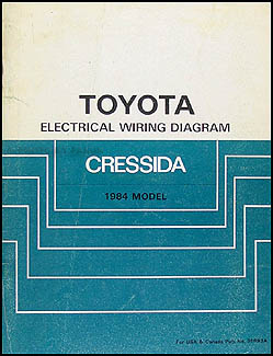 toyota cressida service manuals shop owner maintenance and 1984 toyota cressida wiring diagram manual original