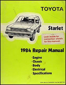 1984 toyota starlet repair shop manual original 1984 toyota starlet repair manual original asfbconference2016 Gallery