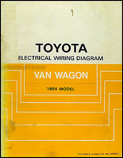 Search 1984 toyota van wagon wiring diagram manual original cheapraybanclubmaster Choice Image