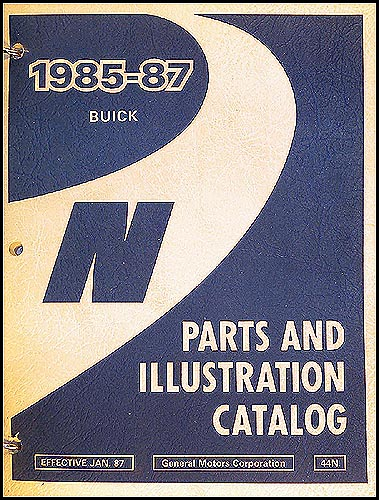 1985-87 Buick S... Skylark Books